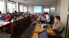 Imagen de la reunión de un grupo de trabajo