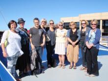 Picture of Communication Staff visiting CSIRO