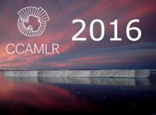 Couverture du calendrier 2016 de la CCAMLR